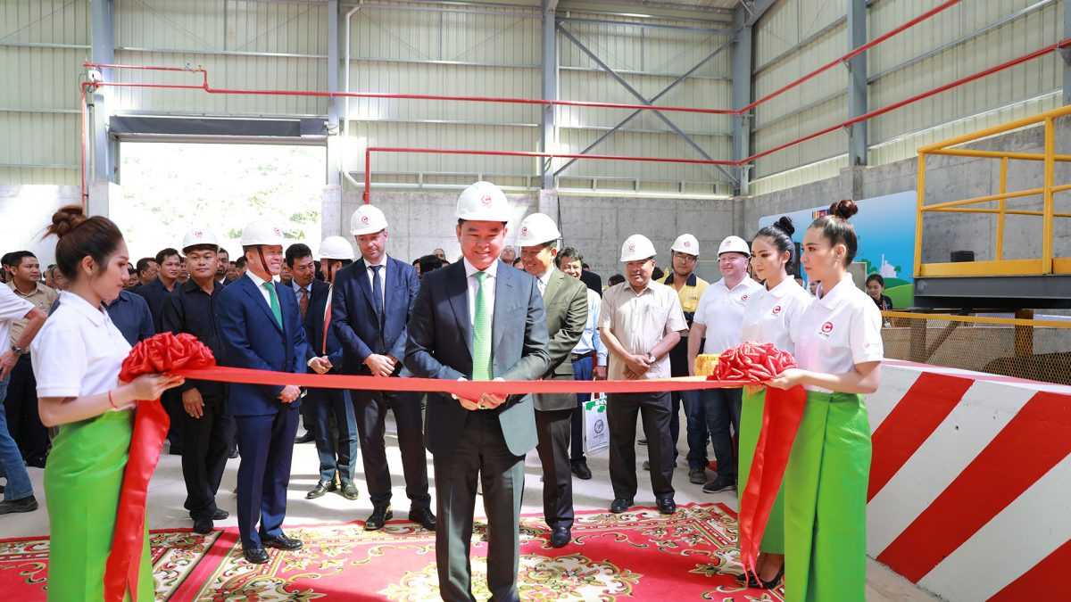 Chip Mong Insee Launches Waste Management Facility to Manage Industrial Waste