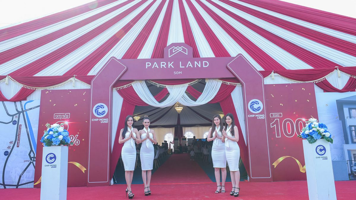 Chip Mong Land Officially Launched Grand Sale of Park Land 50M