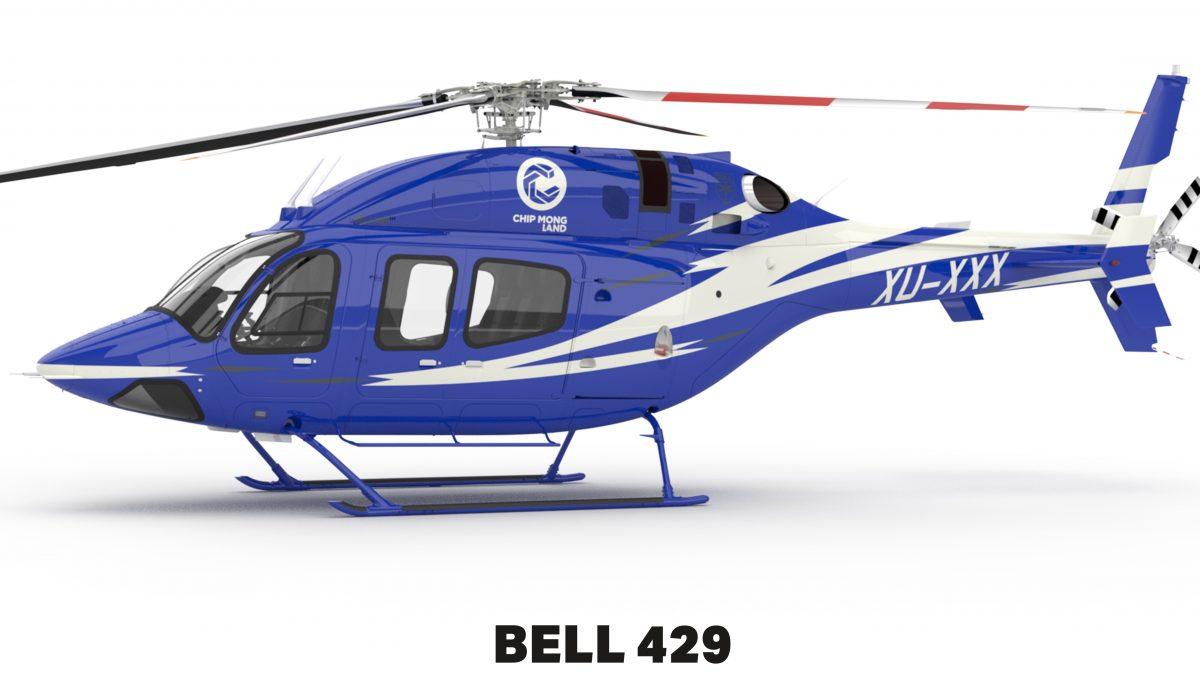 ជីប ម៉ុង បានបញ្ជាទិញឧទ្ធម្ភាគចក្រ Bell 429 ដំបូងគេនៅកម្ពុជា